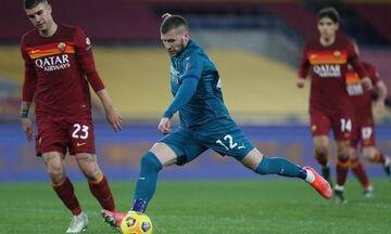 Serie A: Με «διπλό», επί της Ρόμα, έμεινε στο ...κατόπι της Ίντερ, η Μίλαν (highlights)