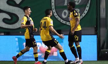 Παναθηναϊκός - ΑΕΚ: Το γκολ του Γκαρσία για το 1-1 (vid)