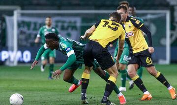 Παναθηναϊκός – ΑΕΚ 1-1: Δεν έχασαν και… ελπίζουν (highlights)