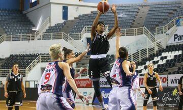 Α1 γυναικών μπάσκετ: Με το ...δεξί στην επανέναρξη ο ΠΑΟΚ