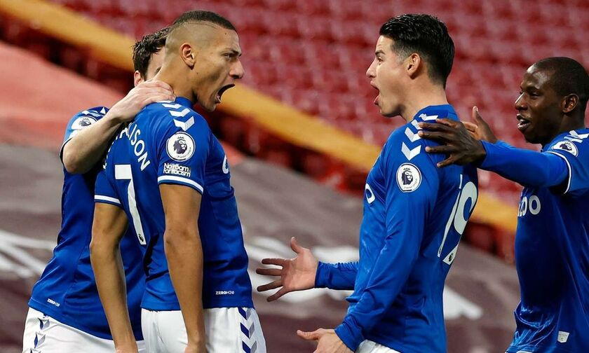 Premier League: Με Ριτσάρλισον η Έβερτον, 1-0 τη Σαουθάμπτον και «έπιασε» τη Λίβερπουλ (highlights)