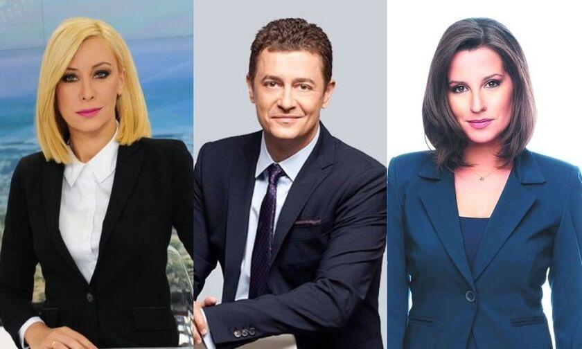 Τηλεθέαση: Η διψήφια Λυμπεράκη, η Παρασκευοπούλου που «εξαφανίστηκε» και ο σταθερός Σρόιτερ