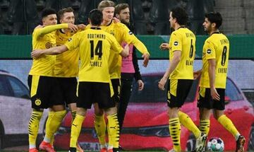 Γερμανικό Κύπελλο: Στα ημιτελικά η Ντόρτμουντ - Απέκλεισε την Γκλάντμπαχ!