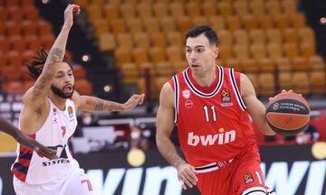 EuroLeague: Λαβωμένος με Μπασκόνια ο Ολυμπιακός