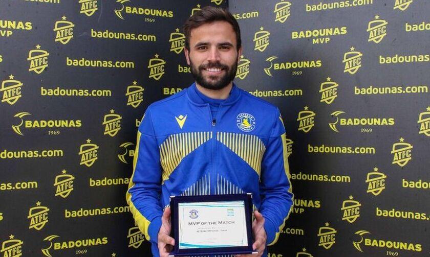 Ο Σίτο παρέλαβε το βραβείο του (vid, pics)