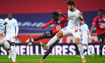 Ligue 1: Ακάθεκτη Λιλ 2-0 τη Μαρσέιγ, οριακές νίκες για Παρί, Λιόν, «σοκ» για Μονακό! (highlights)