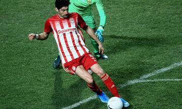 Άρης - Ολυμπιακός 1-1: Το απίστευτο γκολ του Μπουχαλάκη για το 1-1 (vid)