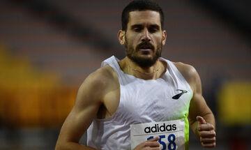 Ευρωπαϊκό Πρωτάθλημα κλειστού στίβου: Στην 11η θέση του προκριματικού των 1.500 μέτρων ο Δημητράκης