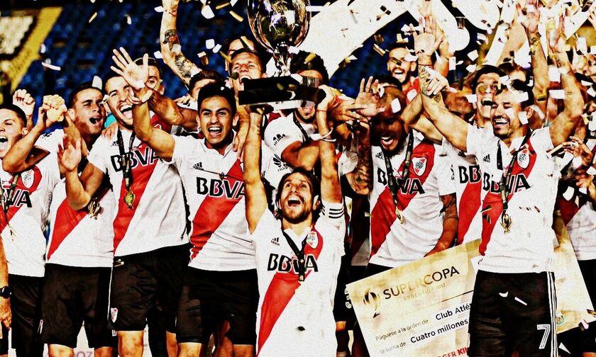 Ρίβερ Πλέιτ: Σήκωσε και το Supercopa, το 67ο τρόπαιο σε 119 χρόνια ιστορίας!