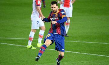 Παίκτης του μήνα Φεβρουαρίου ο Μέσι στη La Liga