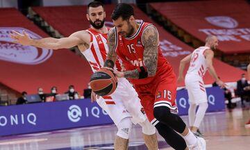 Ολυμπιακός - Ερυθρός Αστέρας: Μόνος πρώτος στην κορυφή των διπόντων της EuroLeague ο Πρίντεζης (vid)