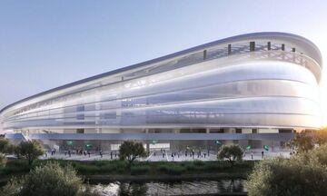 Παναθηναϊκός: Οι δύο πρώτες virtual εικόνες από το νέο γήπεδο στον Βοτανικό