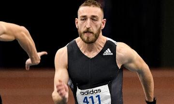 Ευρωπαϊκό Πρωτάθλημα κλειστού στίβου: Δεν προκρίθηκε στον τελικό των 60 μέτρων ο Ζήκος