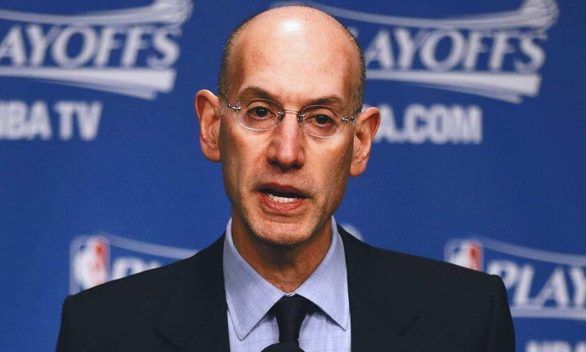"""Σίλβερ: «Καμία σκέψη για """"φούσκα"""", δεν αλλάζουμε το logo του NBA»"""