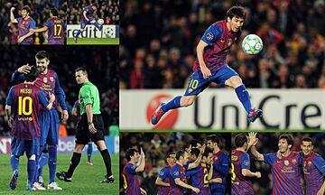 Η «πεντάστερη» παράσταση του Μέσι στο Champions League!