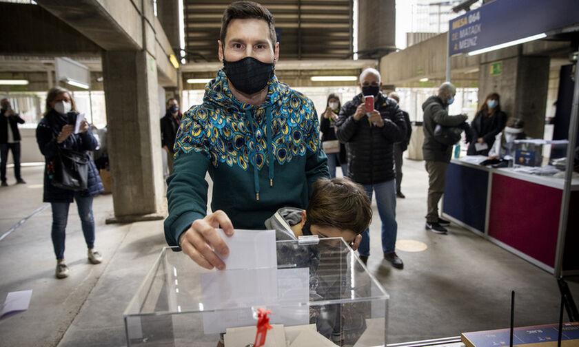 Εκλογές Μπαρτσελόνα: Στις κάλπες κι ο Μέσι (pics) !