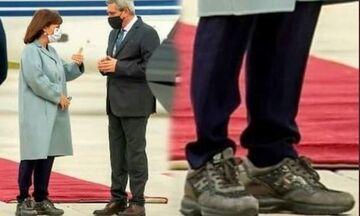 Ρόδος: Τα… παπούτσια της Προέδρου!