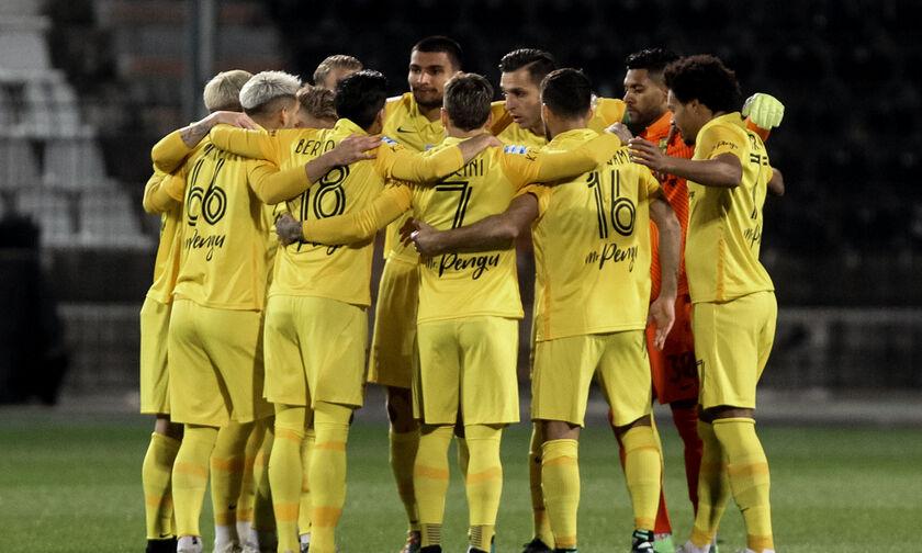 ΠΑΟΚ-Άρης: Το γκολ του Μπερτόγλιο για το 0-1 (vid)