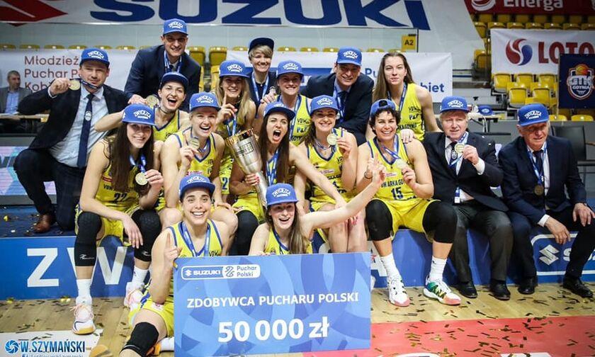 Με MVP την Σπανού, η Γκντίνια πήρε το Κύπελλο Πολωνίας! (pic)