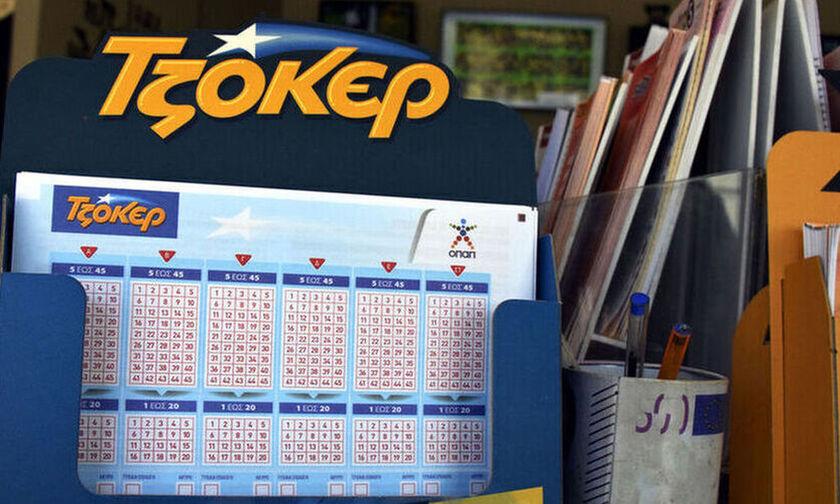 Τζόκερ κλήρωση (7/3): Νέο τζακ ποτ - Ποιοι οι τυχεροί αριθμοί (pic)