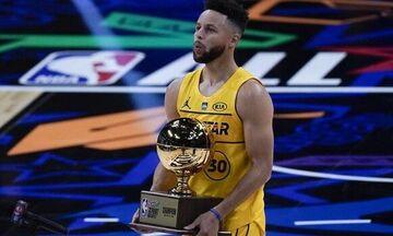 All-Star Game 2021: Ο Σάιμονς νικητής στα καρφώματα, ο Κάρι στα τρίποντα (vids)