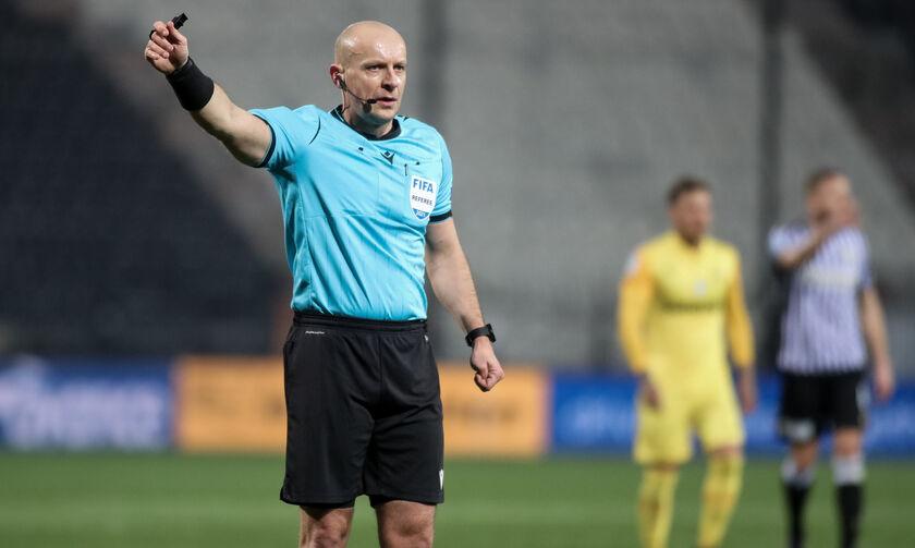 Βαρούχας: «Σωστά δόθηκε πέναλτι υπέρ του ΠΑΟΚ, δεν έπρεπε να μετρήσει το γκολ του Μάνου»