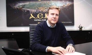 Επίσημο: Ο Γιώργος Κοσμάς νέος αντιπρόεδρος και διευθύνων σύμβουλος στην ΠΑΕ ΑΕΚ