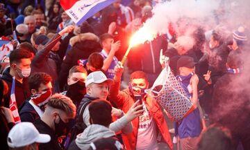 Σκωτία: Συλλήψεις οπαδών της Ρέιντζερς για παραβίαση του lockdown στους πανηγυρισμούς για τον τίτλο