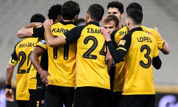 ΑΕΚ - Απόλλων Σμύρνης: Το 2-0 ξανά με τον Ανσαριφάρντ (vid)
