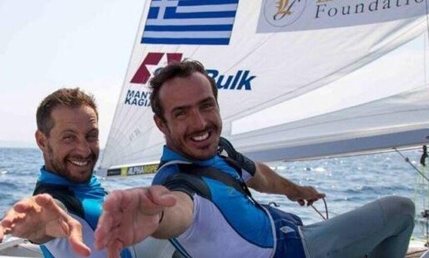 Δυνατό ξεκίνημα για Μάντη - Καγιαλή στο Παγκόσμιο 470