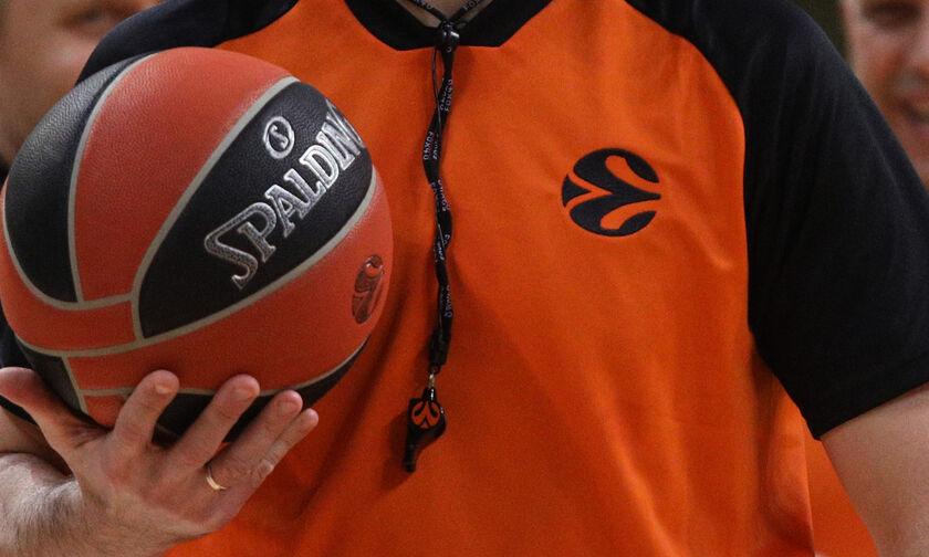 EuroLeague: Οι διαιτητές στα Ολυμπιακός - Ζενίτ και Παναθηναϊκός - Μακάμπι