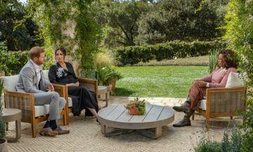 Τηλεθέαση: Πόσοι είδαν την συνέντευξη του πρίγκιπα Χάρι και της Μέγκαν Μαρκλ στην Όπρα