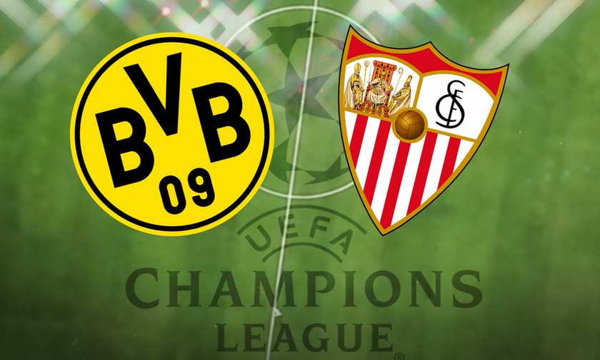 Champions League: Οι ενδεκάδες στο Ντόρτμουντ – Σεβίλλη