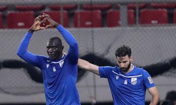 Λαμία – ΑΕΛ: Το γκολ του Αντέτζο για το 1-0 (vid)