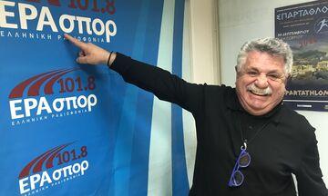 Λαζάρου: «Είμαι Εθνικός, αλλά τρέφω μεγάλο σεβασμό για τον Ολυμπιακό»