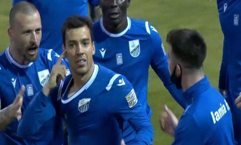 Λαμία - ΑΕΛ 2-1: Ο πρώην «Λαρισαίος» Ντέλετις ...βύθισε την ΑΕΛ (highlights)