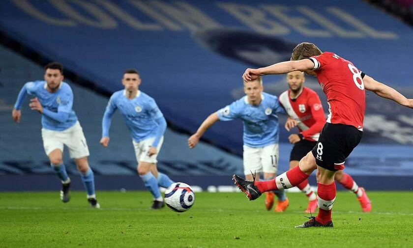 Μάντσεστερ Σίτι - Σαουθάμπτον: Ο Ντε Μπρόινε το 1-0, ο Γουόρντ - Πράους το 1-1 (vids)