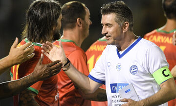 Legends 2004: «Μεγάλη ευκαιρία για το ελληνικό ποδόσφαιρο η προοπτική Ζαγοράκη»