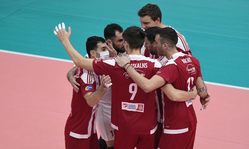 Volley League: Την Κυριακή (14/3) θα γίνει το Ολυμπιακός - ΠΑΟΚ