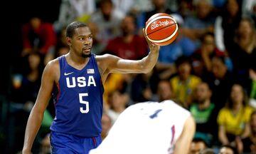 Ολυμπιακοί Αγώνες: Με Τζέιμς, Ντουράντ και Κάρι η προεπιλογή των ΗΠΑ