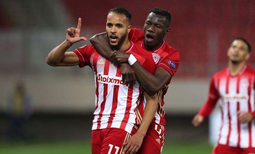 Ολυμπιακός - Άρσεναλ: Το γκολ του Ελ Αραμπί για το 1-1 !