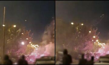 Νέα Σμύρνη: Σάλο έχει προκαλέσει βίντεο που δείχνει αστυνομικό να πετάει μολότοφ! (vid)
