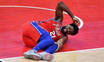 Σίξερς: Αγωνία για Εμπίντ, τραυματίστηκε στο γόνατο! (vids)