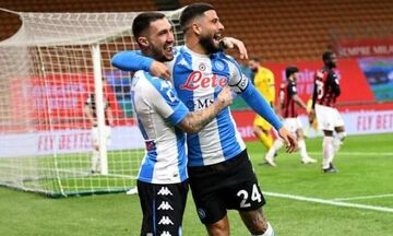 Serie A: Ακόμη πιο κοντά στο σκουντέτο η Ίντερ με το «διπλό» της Νάπολι επί της Μίλαν (highlights)!