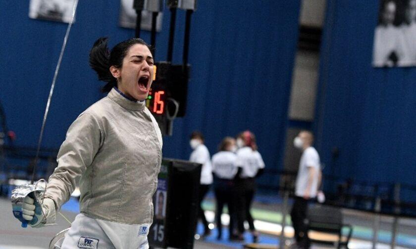 Ξιφασκία: Στους Ολυμπιακούς Αγώνες η Γκουντούρα