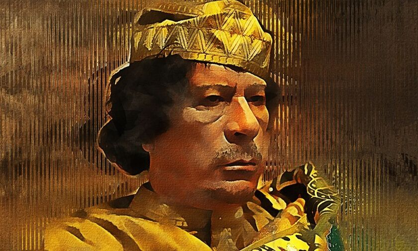 Πώς ο Καντάφι βρέθηκε στο Χαϊδάρι, ν' ακούει τσάμικα και να παίζει μπάλα στον Άη Γιώργη