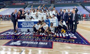 NCAA: Στο τελικό τουρνουά προκρίθηκε το Αϊόνα του Πιτίνο