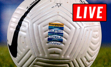 LIVE: Η 26η αγωνιστική της Super League