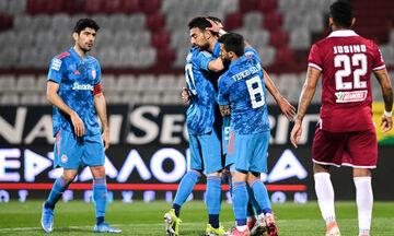 ΑΕΛ - Ολυμπιακός 1-3: Τα γκολ της αναμέτρησης (vid)