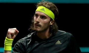 Τσιτσιπάς: «Είμαι κοντά σε έναν τελικό Grand Slam»